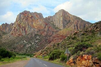 Cogmanskloof on the way to Montagu, Breede River Valley
